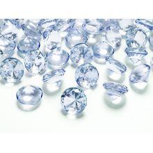 Modré diamanty 20mm