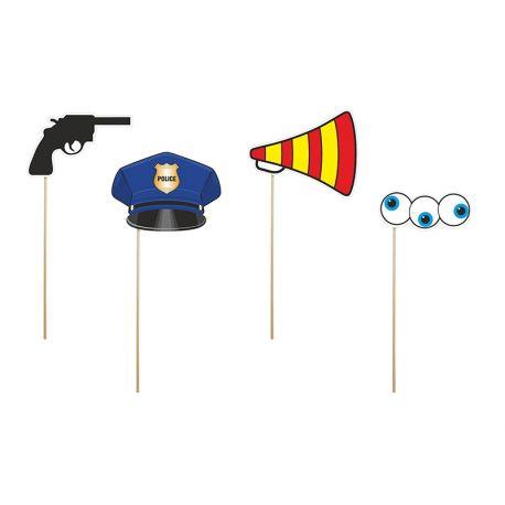 Polícia na paličke
