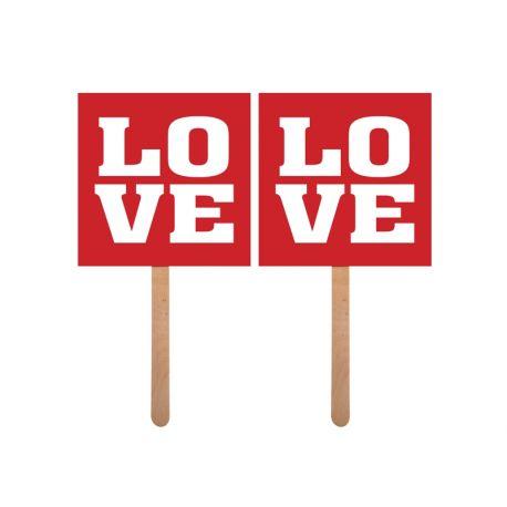 LOVE/LOVE na paličke