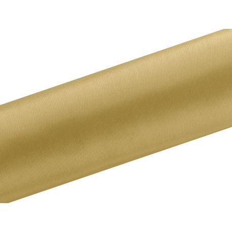 Satén zlatá farba 16cm