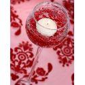 Girlanda perlová 1,3m červená