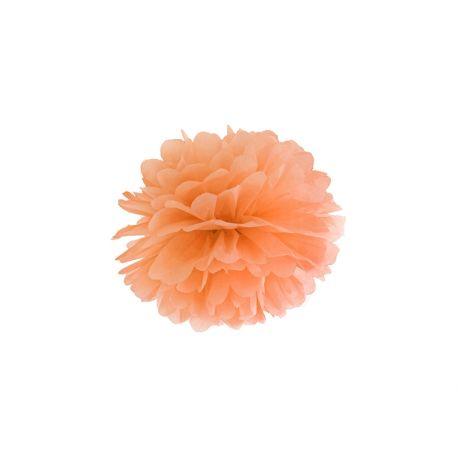 Pom pom 25cm - oranžová farba