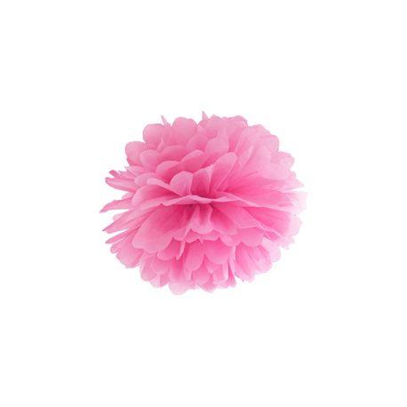 Pom pom 25cm - ružová farba