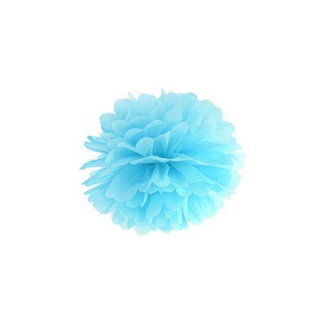 Pom pom 25cm - svetlo modrá farba