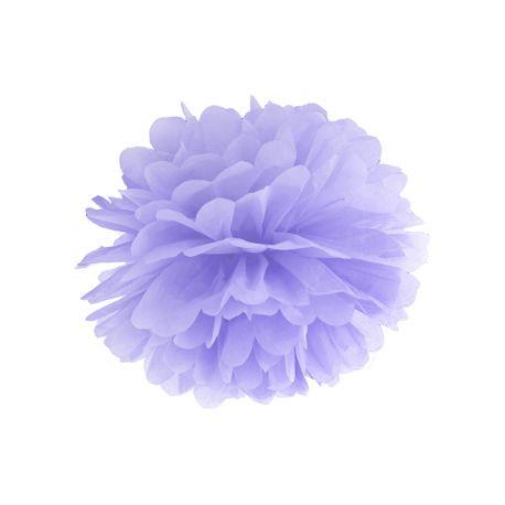 Pom pom 35cm - svetlo fialová farba