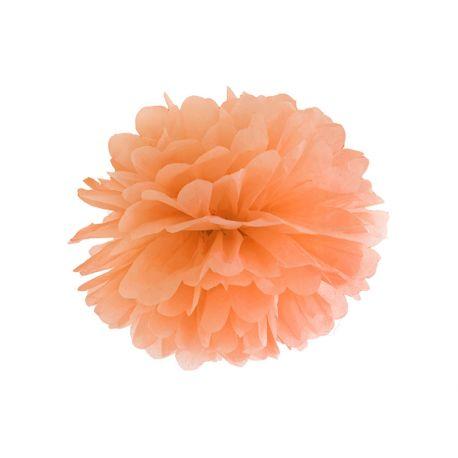 Pom pom 35cm - oranžová farba