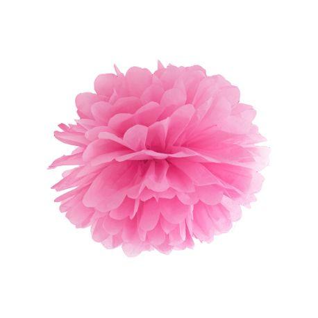 Pom pom 35cm - ružová farba