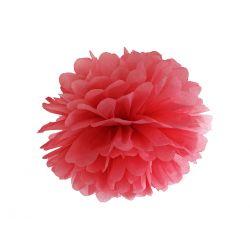 Červený Pom pom - 35cm