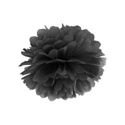 Pom pom 35cm - čierna farba