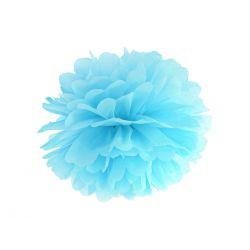Pom pom 35cm - svetlo modrá farba