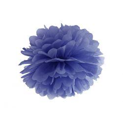 Modrý Pom pom - 35cm