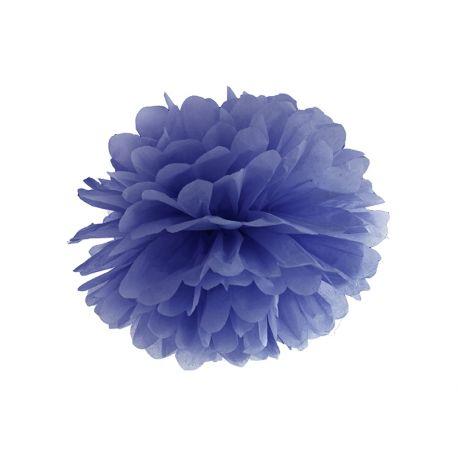 Pom pom 35cm - tmavo modrá farba