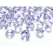 Fialové diamanty 20mm