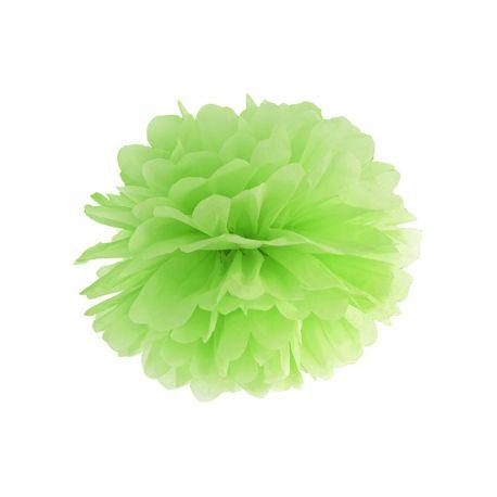 Pom pom 35cm - zelená jablková farba