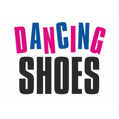 """Nálepky na topánky """"DANCING SHOES"""""""