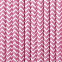 Papierové slamky - ružová farba