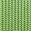Papierové slamky zelené