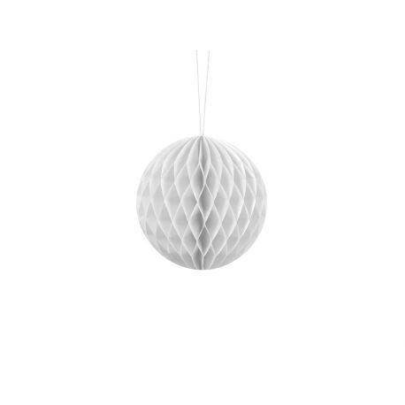 Honeycomb Ball 10cm biela