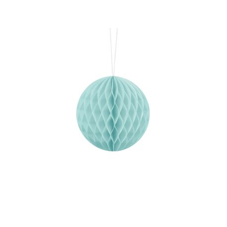 Honeycomb Ball 10cm svetlo modrá