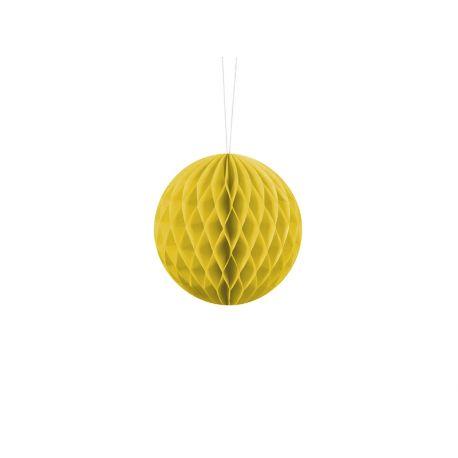 Honeycomb Ball 10cm žltá