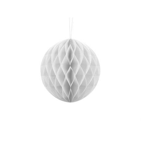 Honeycomb Ball 20cm biela