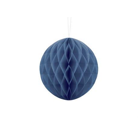 Honeycomb Ball 20cm tmavo modrá