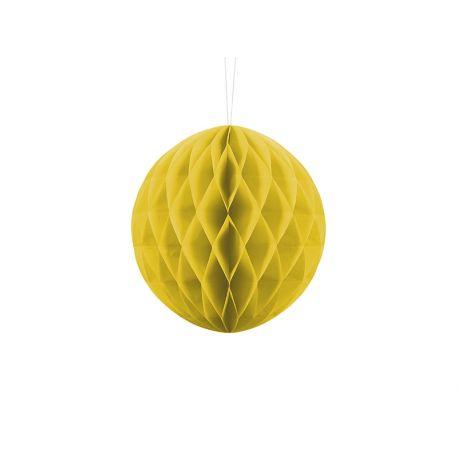 Honeycomb Ball 20cm žltá