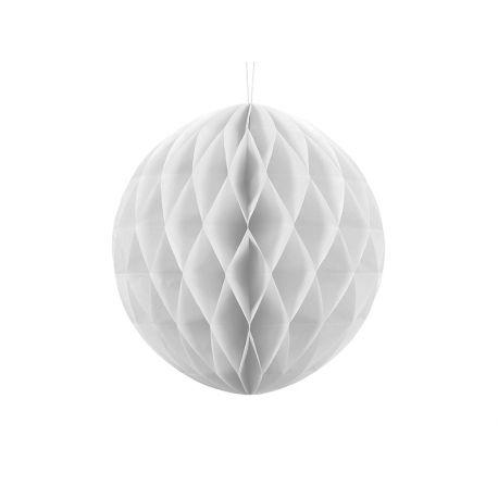 Honeycomb Ball 30cm biela