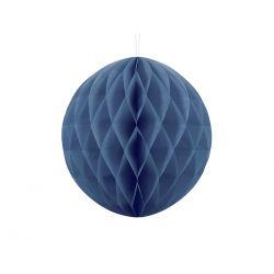 Honeycomb Ball 30cm tmavo modrá