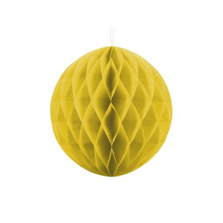 Honeycomb Ball 30cm žltá