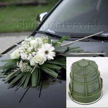 Prísavka s hubkou na svadobné auto