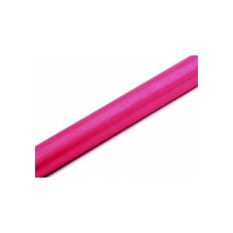Organza 36cm tmavo ružová