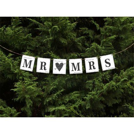 Banner Mr (srdce) Mrs