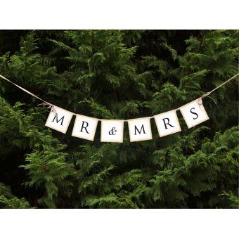 Banner Mr & Mrs