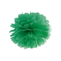 Zelený Pom pom - 35cm