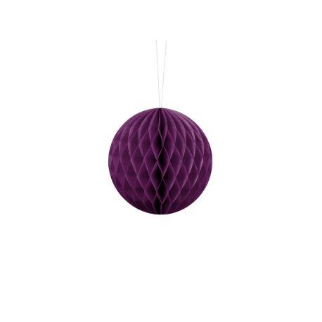Honeycomb Ball 10cm fialová slivka