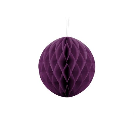 Honeycomb Ball 20cm fialová slivka