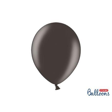 Balón metalický - čierna farba
