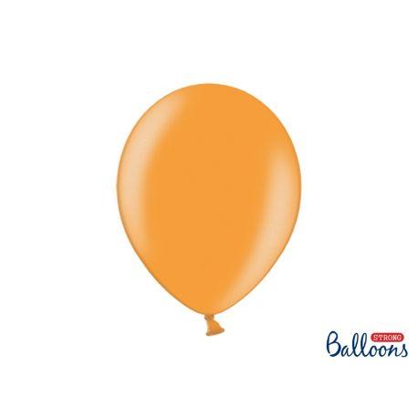 Balón metalický - oranžová farba