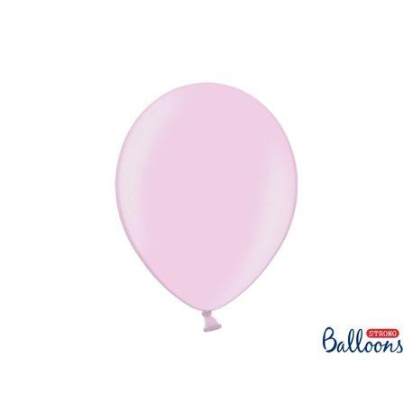 Balón metalický - ružová farba