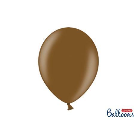 Balón metalický - hnedá farba