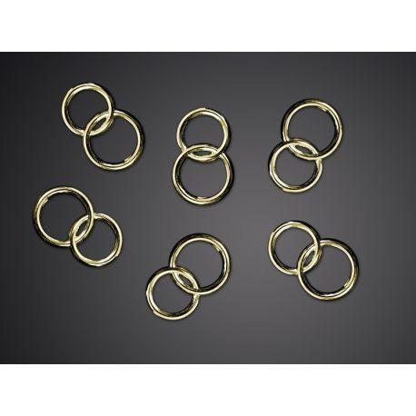 Obrúčky zlaté 15mm