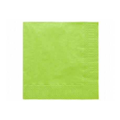 Zelené papierové obrúsky - Standard 33cm/20ks