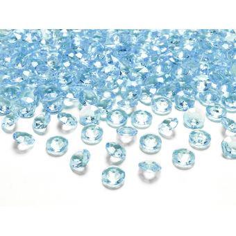 Tyrkysové diamanty 12mm - tyrkysová farba