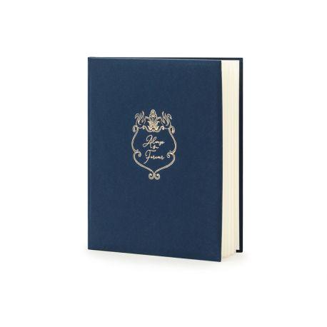 Svadobná kniha hostí s nápisom ALWAYS & FOREVER