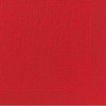 Servítky Premium 40cm/10ks červené
