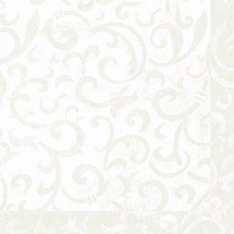 Luxusné obrúsky Sarala biele 40x40cm