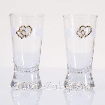 Svadobné poháriky Zlaté srdcia