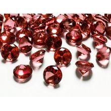 Diamanty 20mm červené